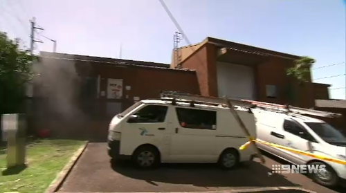 A cable malfunction caused a fire at a Hornsby substation, resulting in 26,000 properties losing power today.