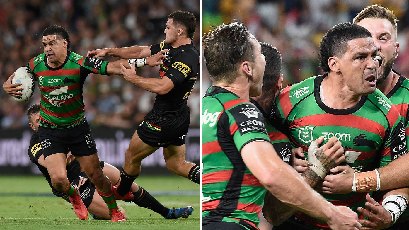 'He made it personal': Bunnies gun Cody Walker smashes Panthers ace Nathan Cleary in 'great grand final try'
