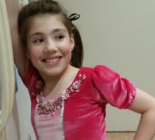 Thalia, 10, was killed in the car attack. (Supplied)
