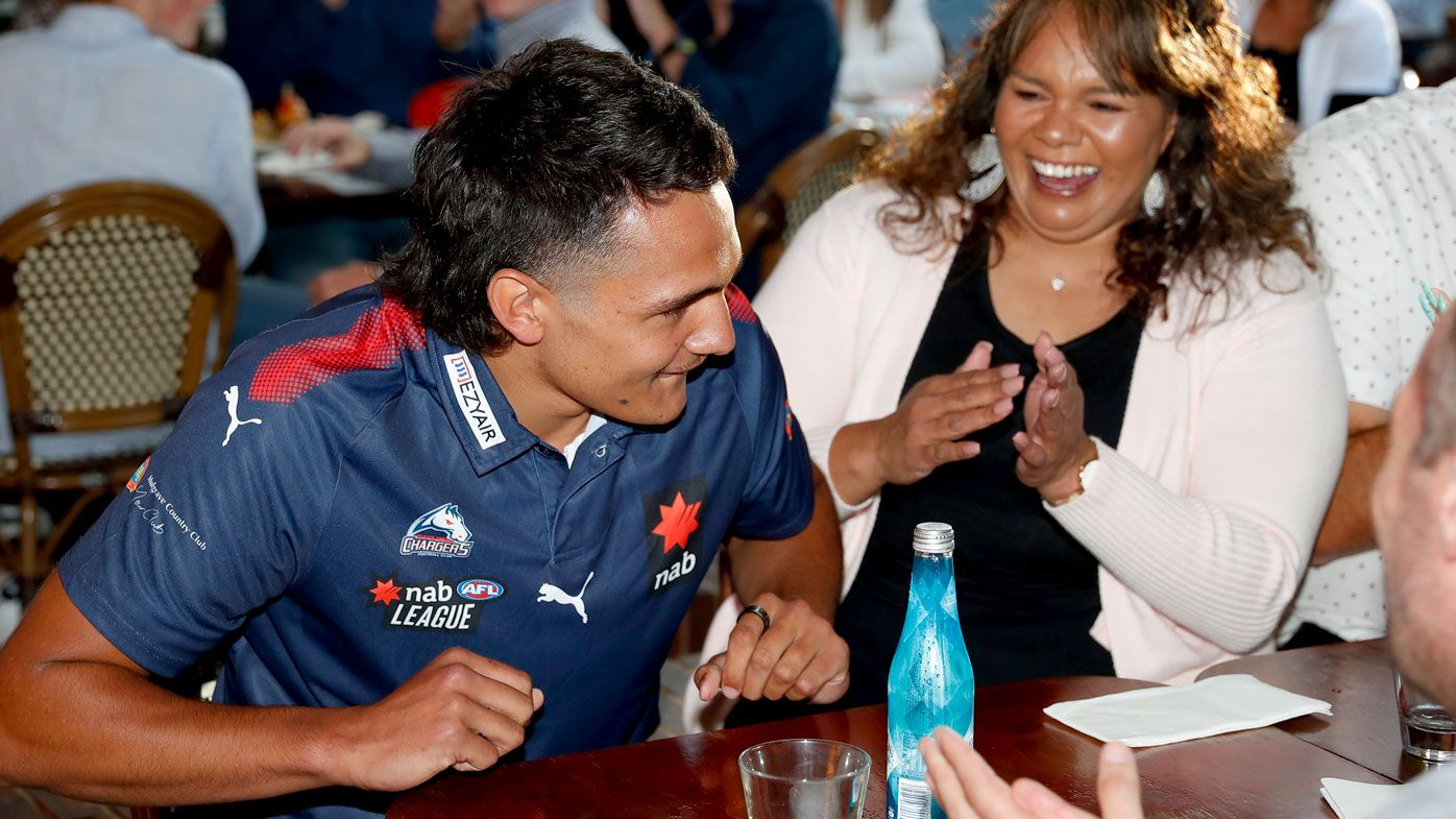 'Unreal experience': Superstar number-one pick Jamarra Ugle-Hagan lands at Western Bulldogs