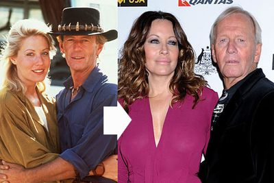 Paul, 72, and Linda, 54, married after falling in love on the set of <i>Crocodile Dundee</i> in 1986, and 25 years on they're still tight. We guess the same can be said for their faces.