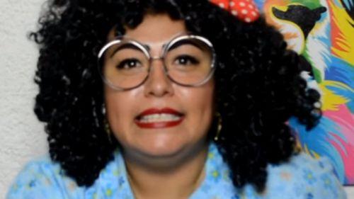Leslie Ann Pamela Montenegro  as her YouTube persona 'Nana Pelucas'. (YouTube)