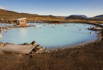 Swap Iceland's Blue Lagoon for Myvatn Nature Baths