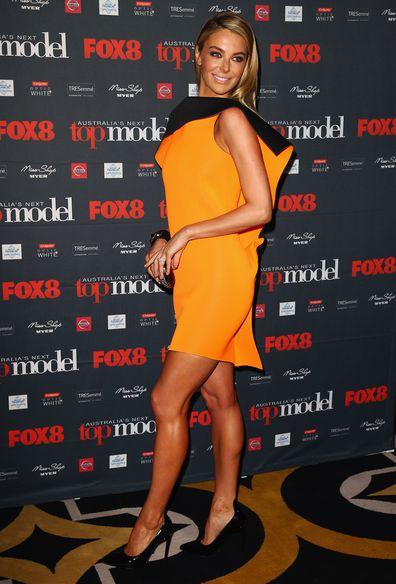 Jennifer Hawkins at the launch of Australia's Next Top Model Season 8 at Doltone House on July 4, 2013 in Sydney, Australia.