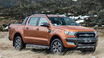 Stock image of Hilux