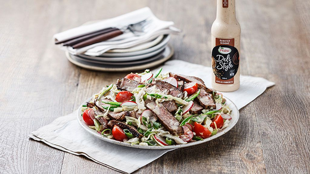 Japanese beef salad recipe by Praise