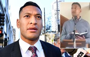 Israel Folau claims bushfires and drought are God's punishment for same-sex marriage