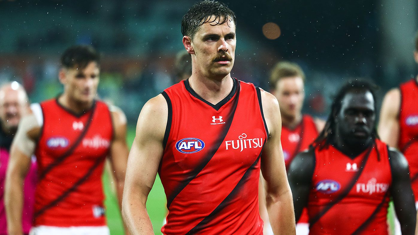 Essendon refutes talk of 'player exodus' despite impending Joe Daniher and Adam Saad exits