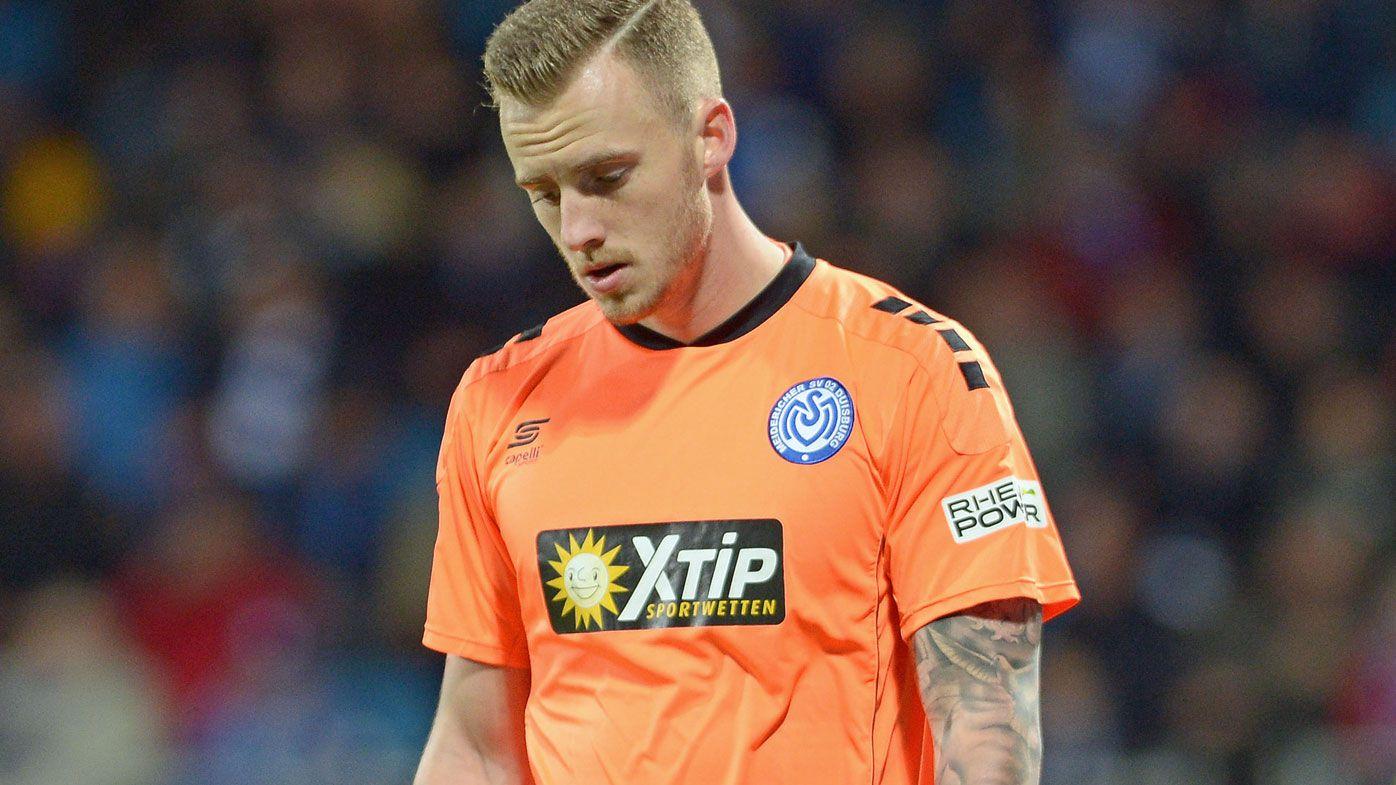 Goalkeeper in German second division makes unforgivable error
