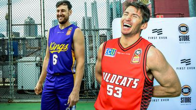 Sydney Kings and Perth Wildcats
