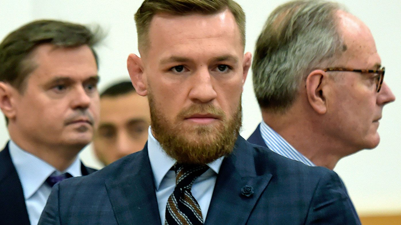 UFC star Conor McGregor fronts US court, expresses 'regret' over New York bus attack incident