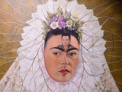 Frida Kahlo's painging 'Diego on my mind'