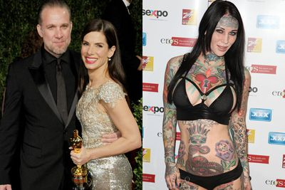 In 2010, Sandra Bullock found out about her husband Jesse James' infidelity the same way we did: through the media. <br/><br/>And his tattoo model mistress Michelle McGee had no issue with sharing raunchy details of their love affair with <i>In Touch</i> soon after he was exposed. This did include more than a few pretty dirty texts and snaps....<br/><br/>No wonder Sandra filed for divorce in 2011. <br/>