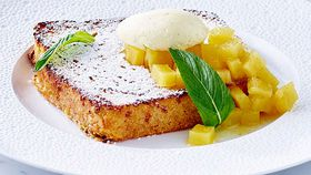Neil Martin's luxurious French pain perdu with fresh brioche