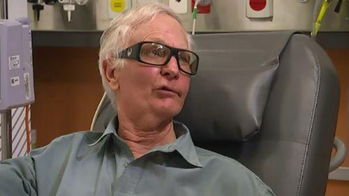 Sheep farmer James Dunn, 71, took part in the trial. (9NEWS)