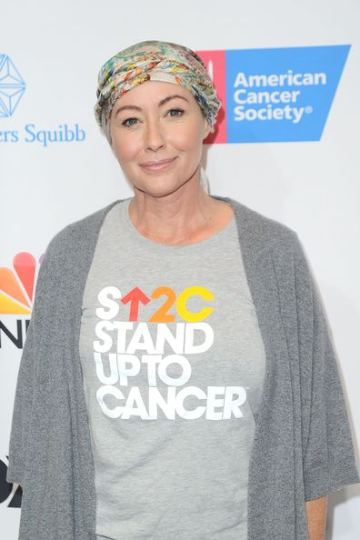Shannen Doherty at Walt Disney Concert Hall on September 9, 2016 in Los Angeles, California.
