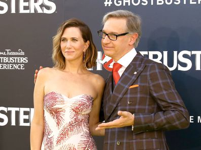 Kristen Wiig and Paul Feig at the LA premiere for Ghostbusters on July 9, 2016