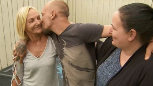 Mr Shortis is now home with his relieved family. (9NEWS)