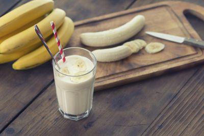 <strong>A banana</strong>