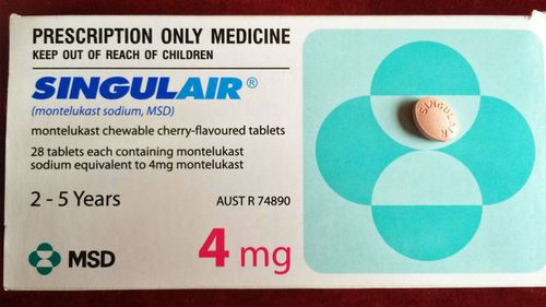 Singulair comes in chewable tablets and is prescribed to children as young as two in Australia.