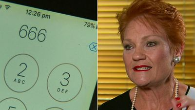 Devilishly clever? Pauline Hanson's plan to expose 'scum scammers'