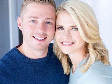Elizabeth Smart with her husband.