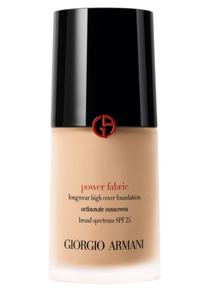 "<p>E! Style Awards 2017 - Best Foundation</p> <p><a href=""http://shop.davidjones.com.au/djs/en/davidjones/power-fabric"" target=""_blank"" draggable=""false"">Giorgio Armani Power Fabric Foundation in Fair Warm, $99 </a></p> <p>A foundation that full coverage with an ultra-light formula. The texture melts into the skin,  blurring imperfections with an incredibly lightweight matte veil that feels like you're not wearing make-up at all. </p> <p>Celebrity Fans- Jennifer Aniston, Lily Aldridge,  Demi Lovato</p>"