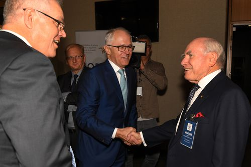 Scott Morrison said he hasn't heard from Malcolm Turnbull for a while.