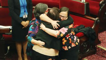Tears and hugs as assisted dying bill passes