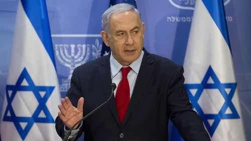 News world politics Benjamin Netanyahu Donald trump Israel territory Syria