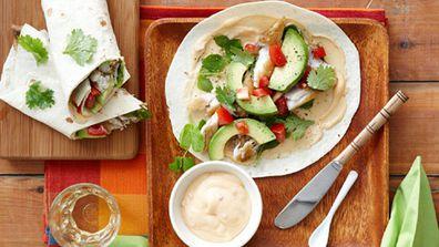 Spice fish tortillas