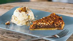 The Chippo Hotel's pecan and bourbon tart