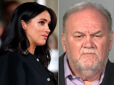 """I can't think for a moment that Thomas Markle will ever be able to meet his grandson or granddaughter,"" the royal expert claims."