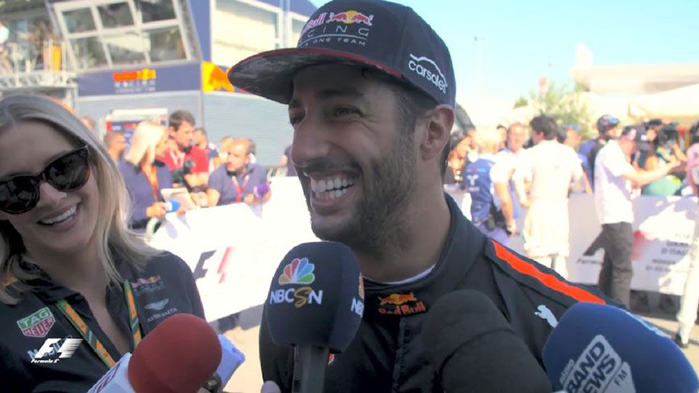 Australia's Daniel Ricciardo confident of success in Singapore after fast finish in Italian Grand Prix