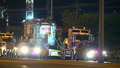 Superload blocks Melbourne roads