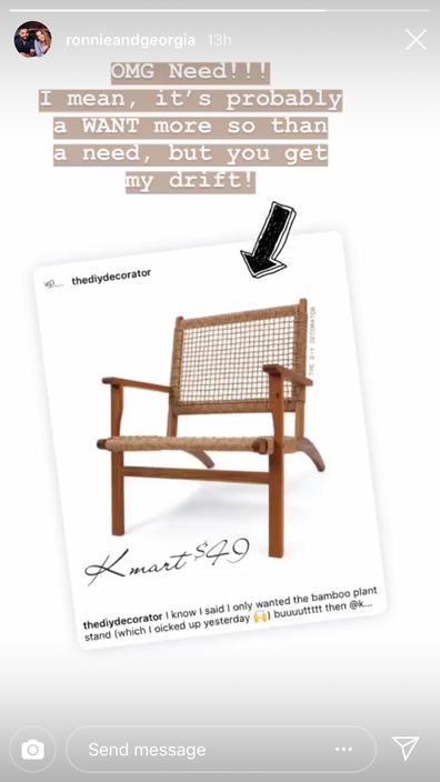Kmart Furniture This 49 Chair And 19 Plant Stand Has Shoppers