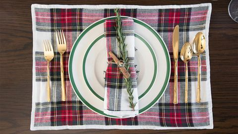 Kourtney's Christmas table