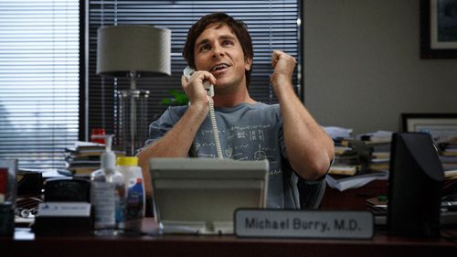 """Christian Bale played Michael Burry in """"The Big Short""""."""