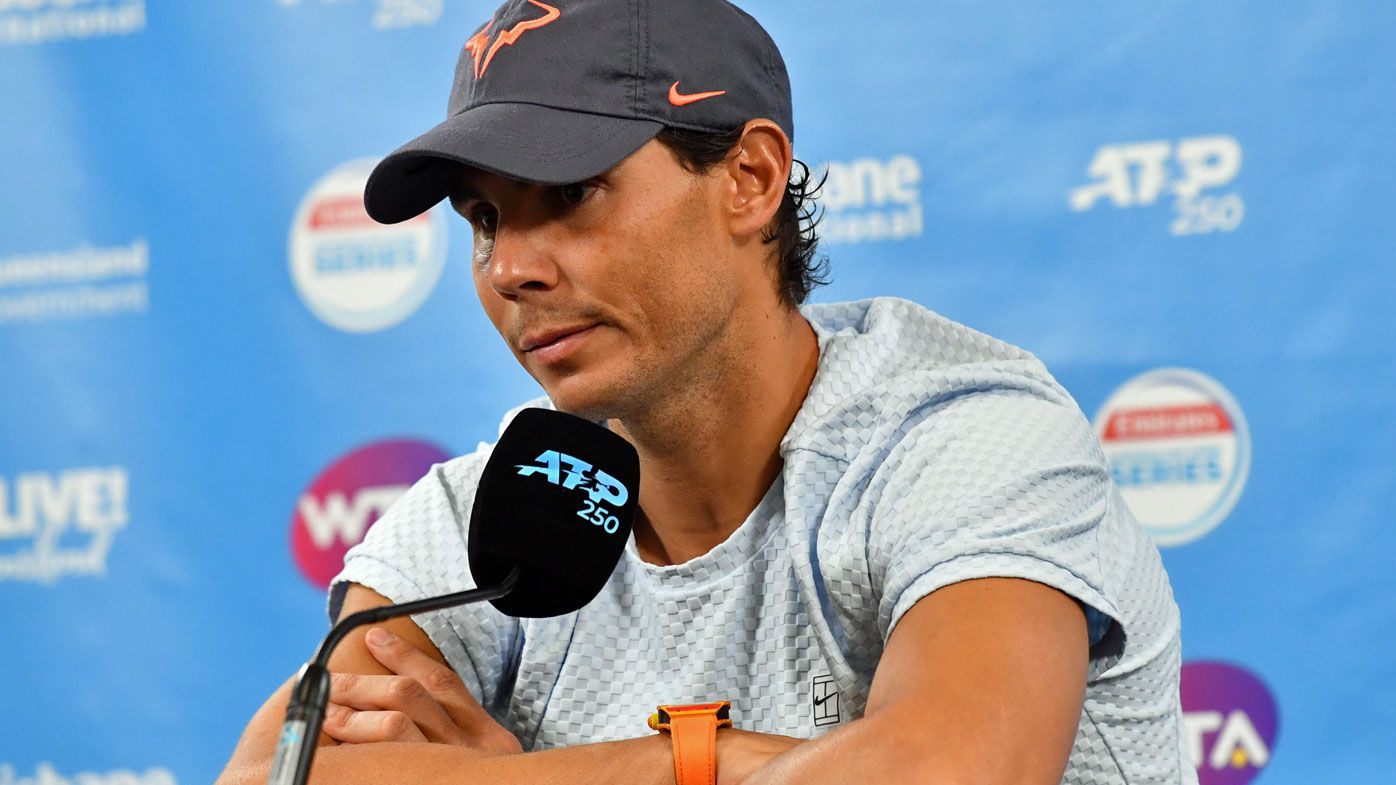 Rafael Nadal pulls out of Brisbane International citing injury concerns