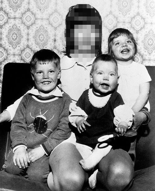 The horrific murders saw Samantha, nine-months-old beaten to death, her brother Paul and sister Dawn were strangled and had their throat cut - before all three were impaled on garden railings.