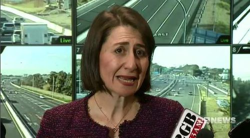 Glady Berejiklian says she's happy with the current system. Picture: 9News