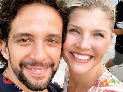 Nick Cordero, wife Amanda Kloots