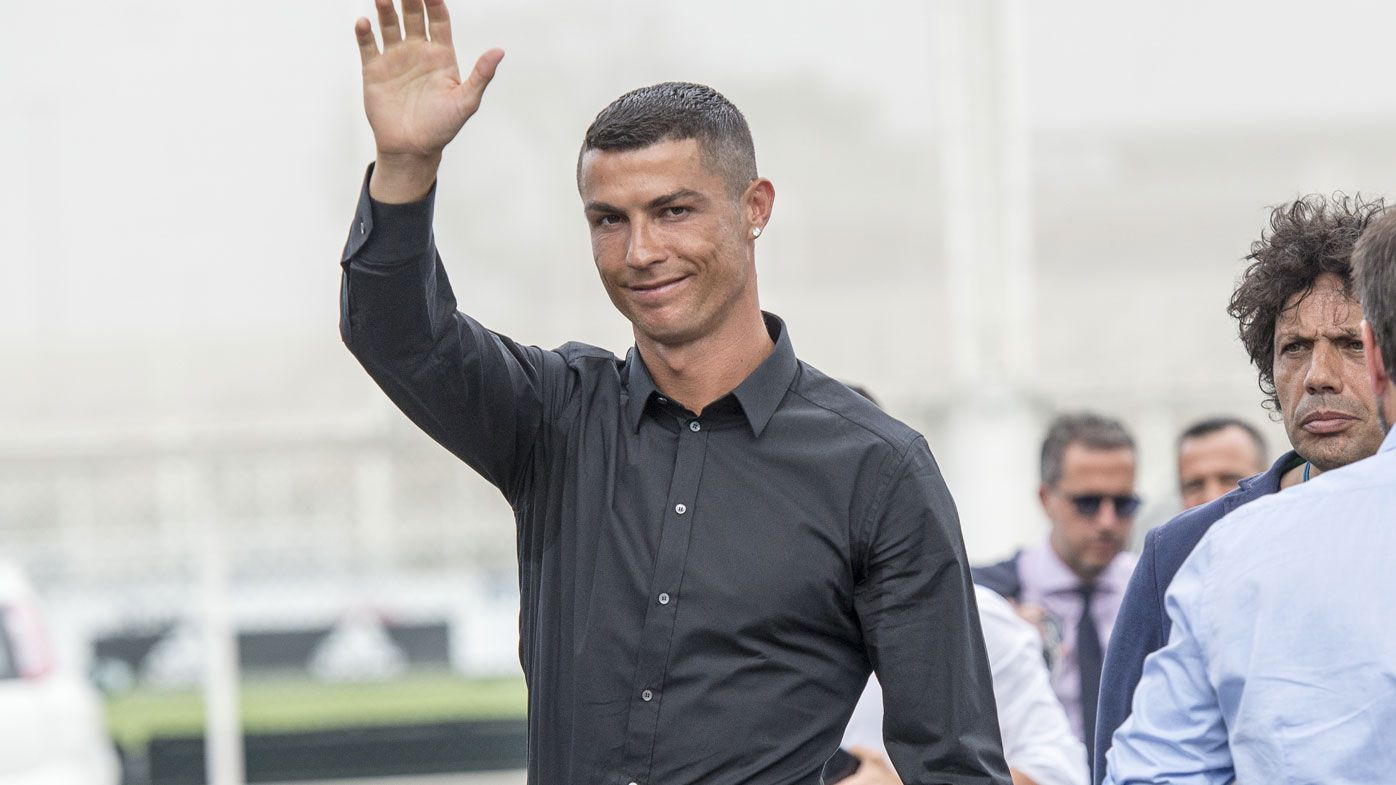 Juventus unveils superstar Cristiano Ronaldo amid record jersey sales