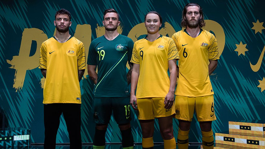 c34a0f8a143 New Socceroos Nike kit revealed for 2018 World Cup in Russia