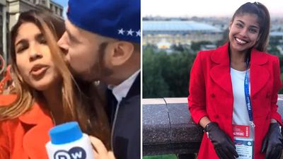 World Cup journalist slams man who groped and kissed her on live TV