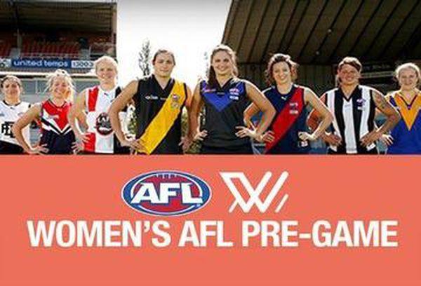Women's AFL Pre-Game