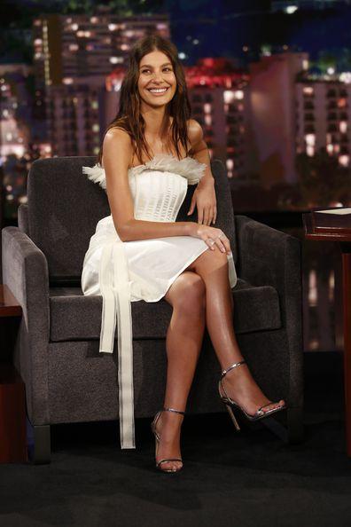 Camila Morrone, Jimmy Kimmel Live, talk show, guest star