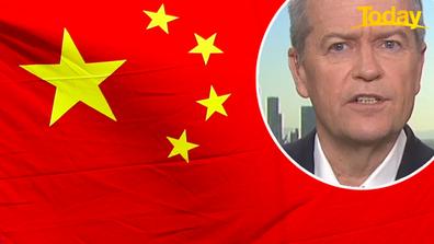 Bill Shorten calls on Australia to find alternative trade partners to China