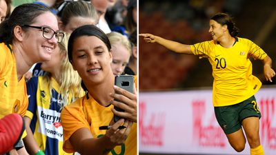 Sam Kerr leading new generation of Australian women's football