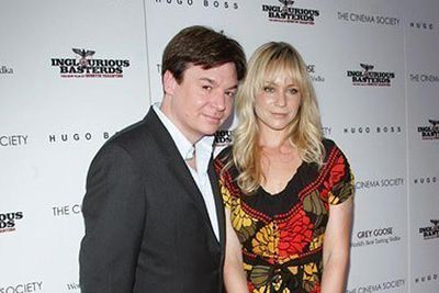 <b>Parents:</b> Mike Myers and Kelly Tisdale